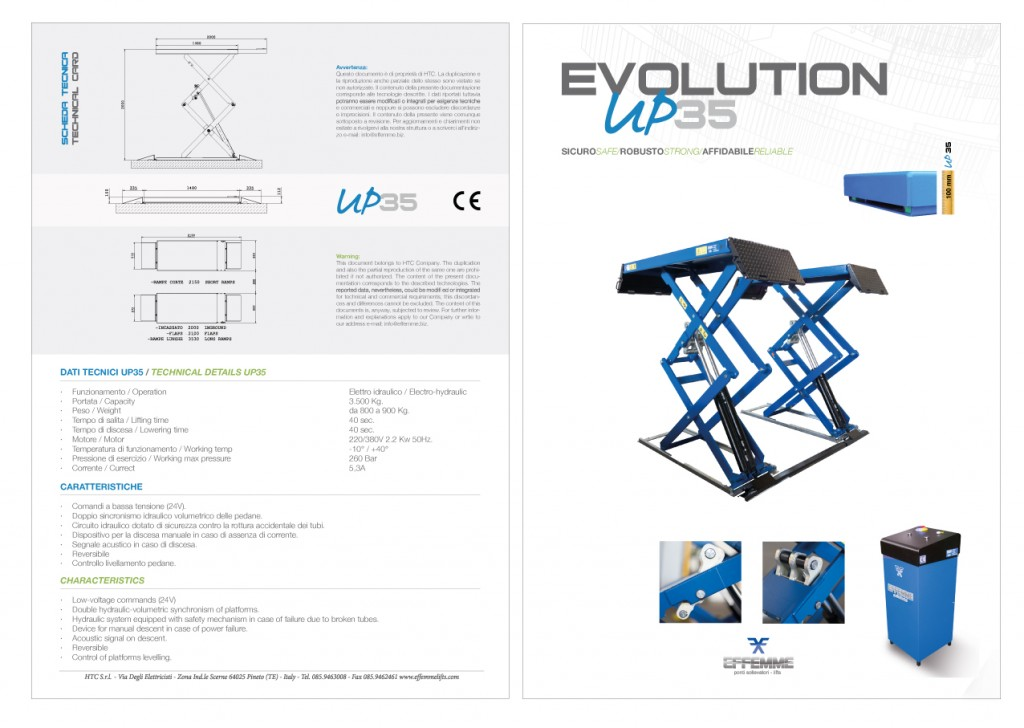 EFFEMME Evolution 35 brochure